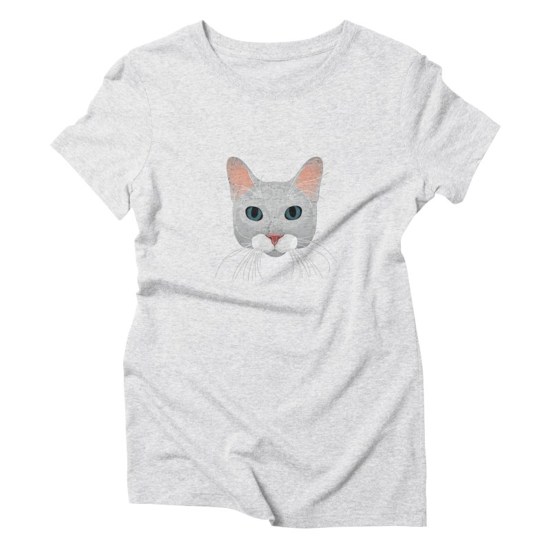 Cat Ramona Women's T-Shirt by darkodjordjevic's Artist Shop