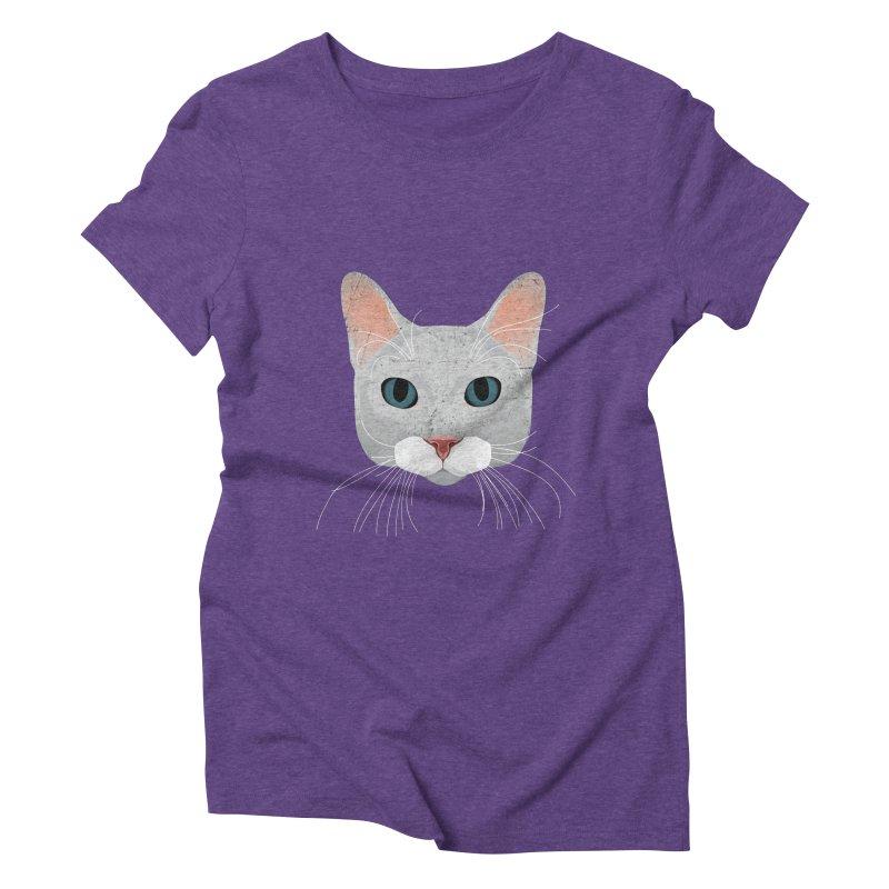 Cat Ramona Women's Triblend T-Shirt by darkodjordjevic's Artist Shop