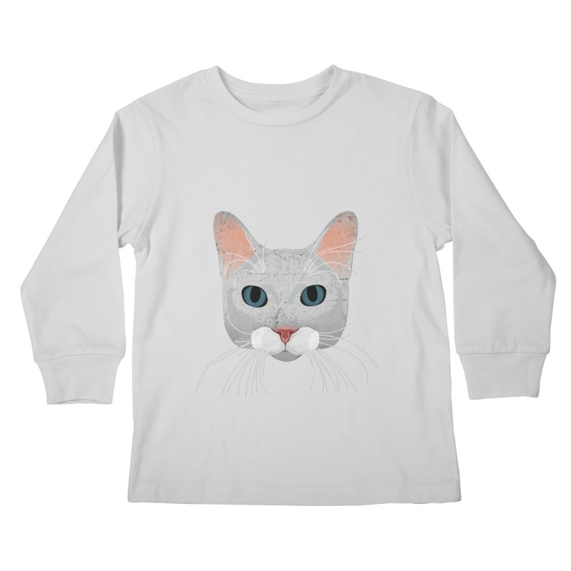 Cat Ramona Kids Longsleeve T-Shirt by darkodjordjevic's Artist Shop