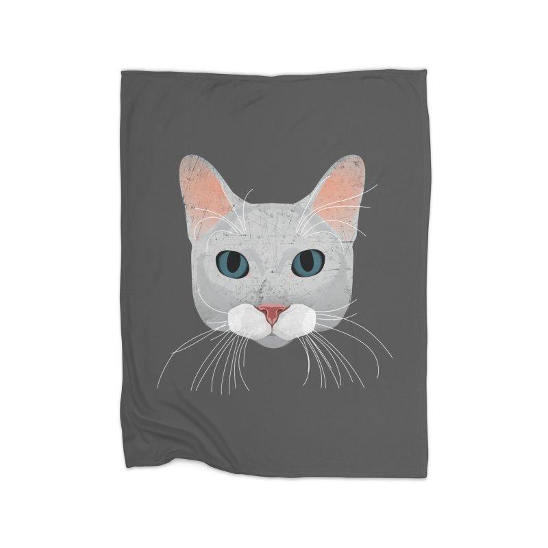 Cat Ramona Home Blanket by darkodjordjevic's Artist Shop