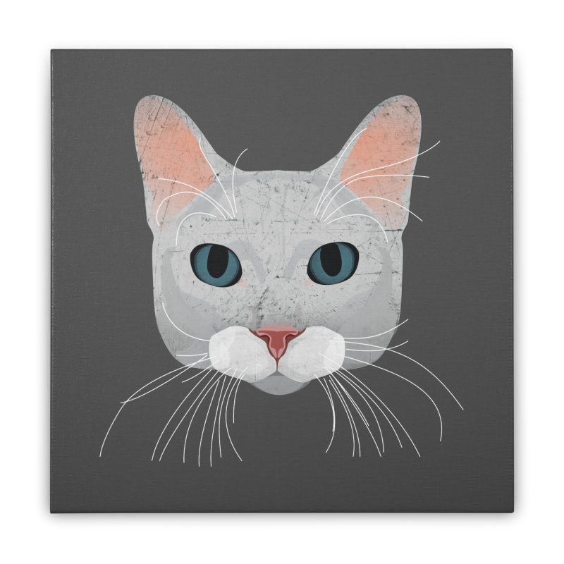 Cat Ramona Home Stretched Canvas by darkodjordjevic's Artist Shop