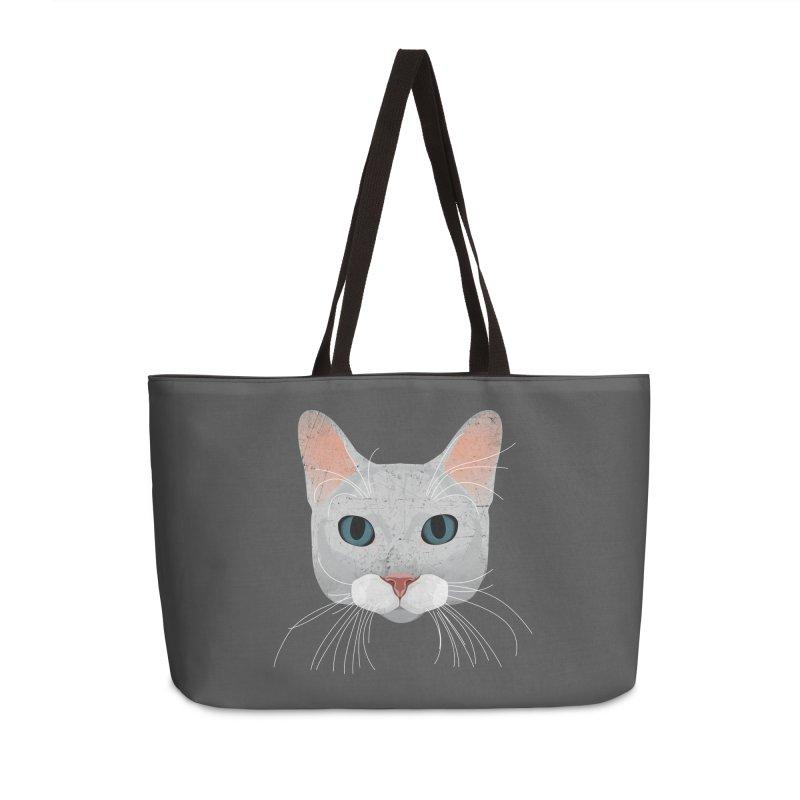 Cat Ramona Accessories Weekender Bag Bag by darkodjordjevic's Artist Shop