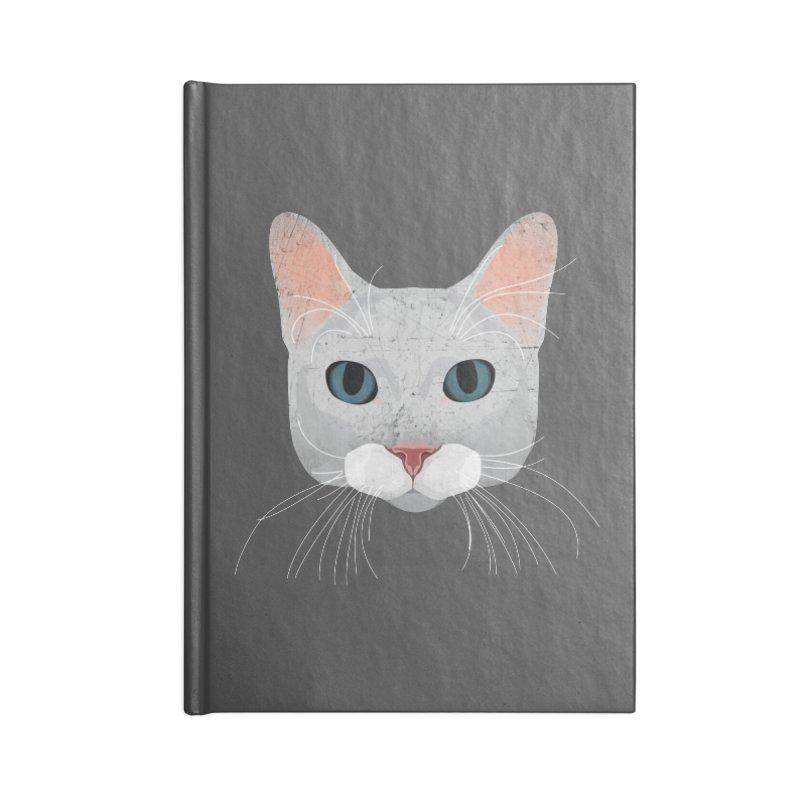 Cat Ramona Accessories Blank Journal Notebook by darkodjordjevic's Artist Shop