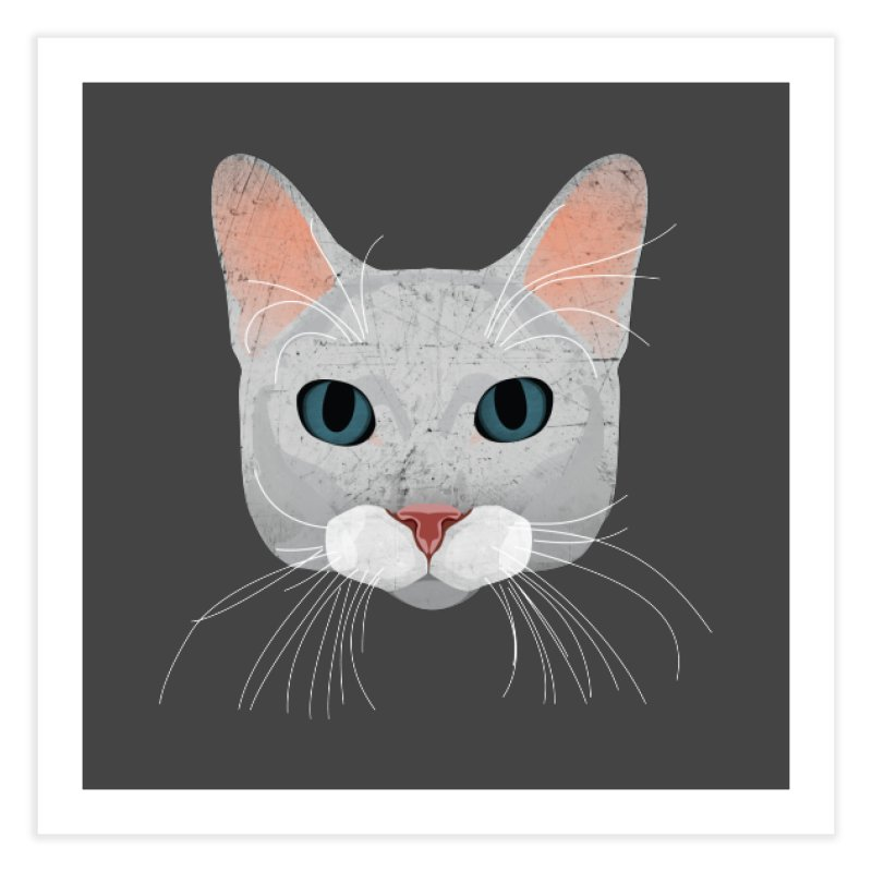 Cat Ramona Home Fine Art Print by darkodjordjevic's Artist Shop