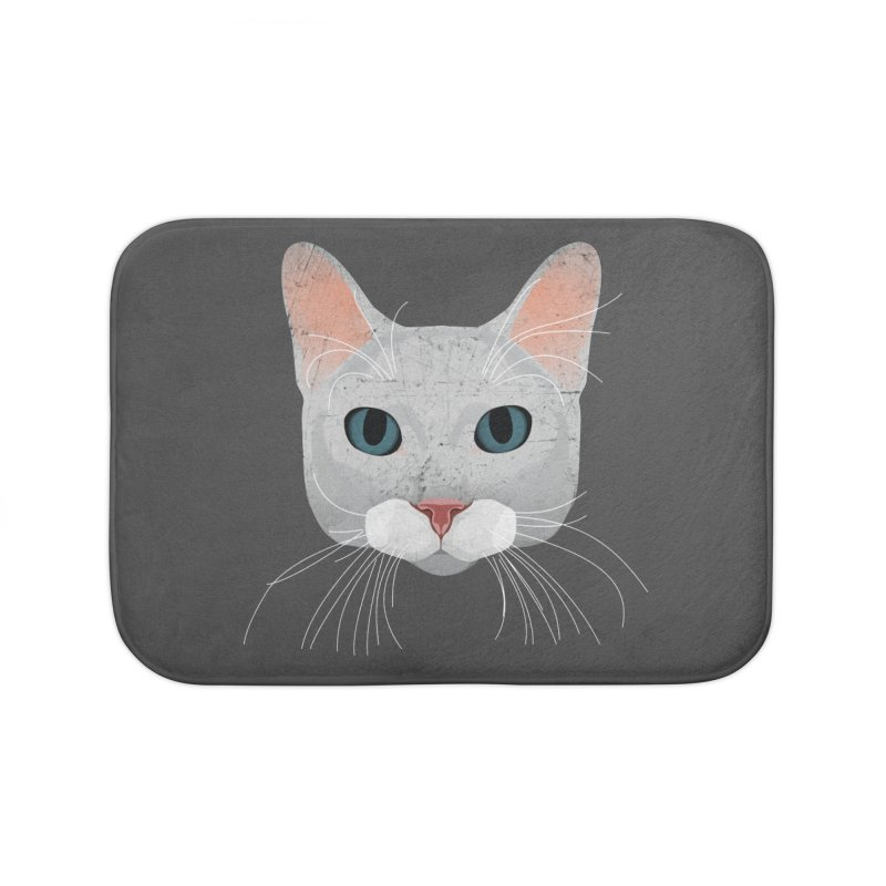 Cat Ramona Home Bath Mat by darkodjordjevic's Artist Shop