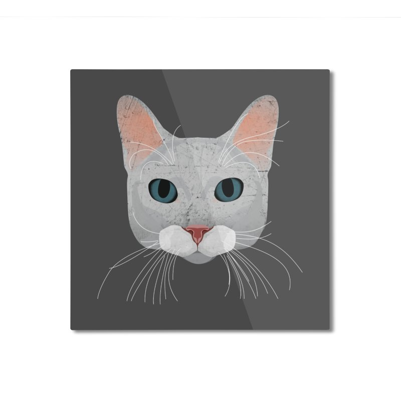 Cat Ramona Home Mounted Aluminum Print by darkodjordjevic's Artist Shop