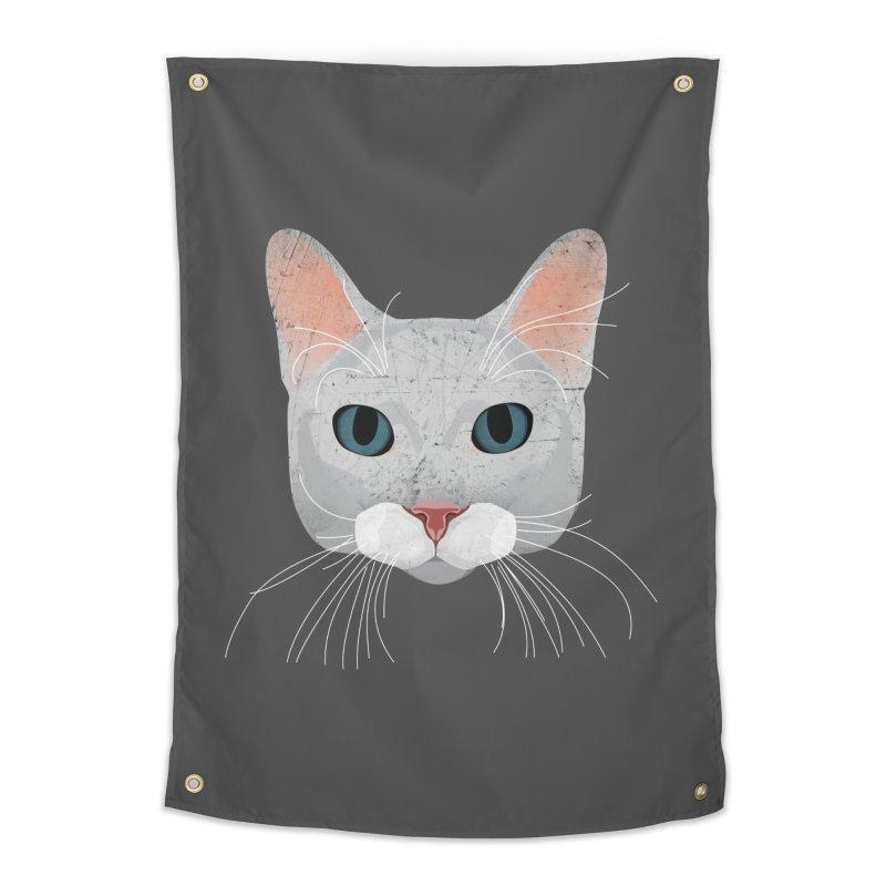 Cat Ramona Home Tapestry by darkodjordjevic's Artist Shop
