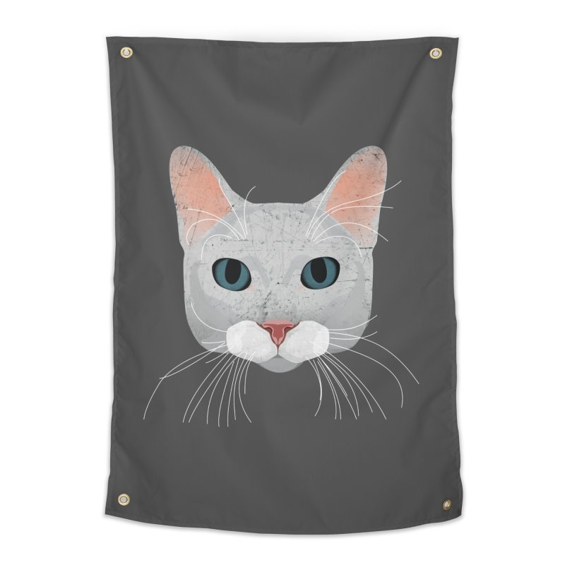 Cat Ramona Home Tapestry by darkodjordjevic's Artist Shop