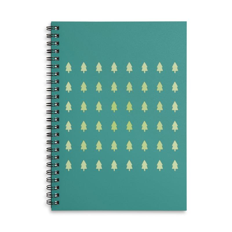 Forest Accessories Lined Spiral Notebook by darkodjordjevic's Artist Shop