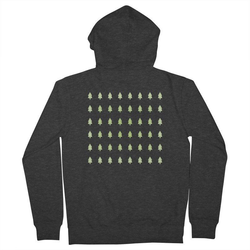 Forest Women's French Terry Zip-Up Hoody by darkodjordjevic's Artist Shop