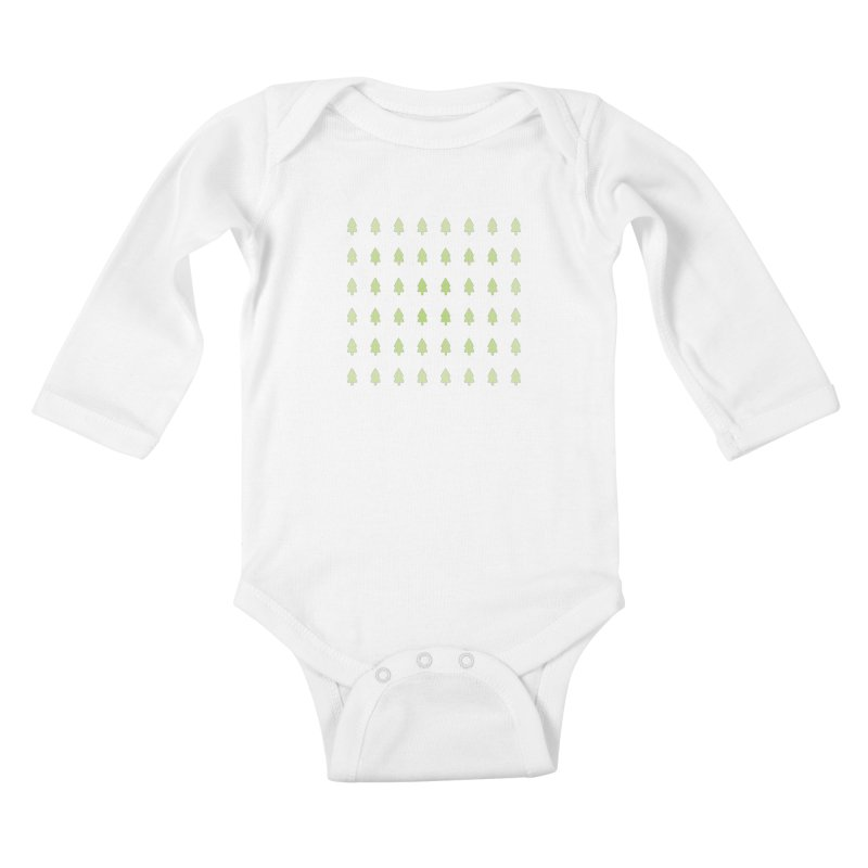 Forest Kids Baby Longsleeve Bodysuit by darkodjordjevic's Artist Shop