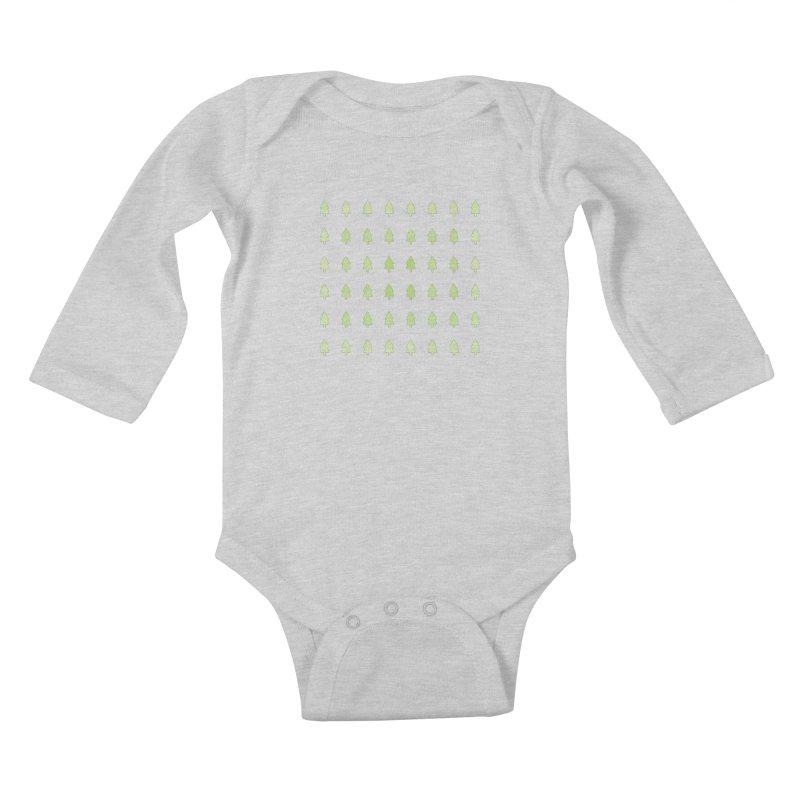 Forest Kids Baby Longsleeve Bodysuit by darkodjordjevic's Artist Shop