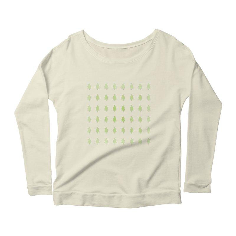 Forest Women's Scoop Neck Longsleeve T-Shirt by darkodjordjevic's Artist Shop