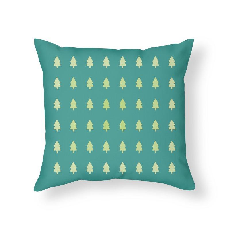 Forest Home Throw Pillow by darkodjordjevic's Artist Shop