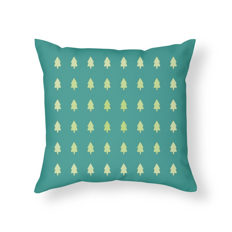 Forest Home Throw Pillow by darkodjordjevic's Artist Shop