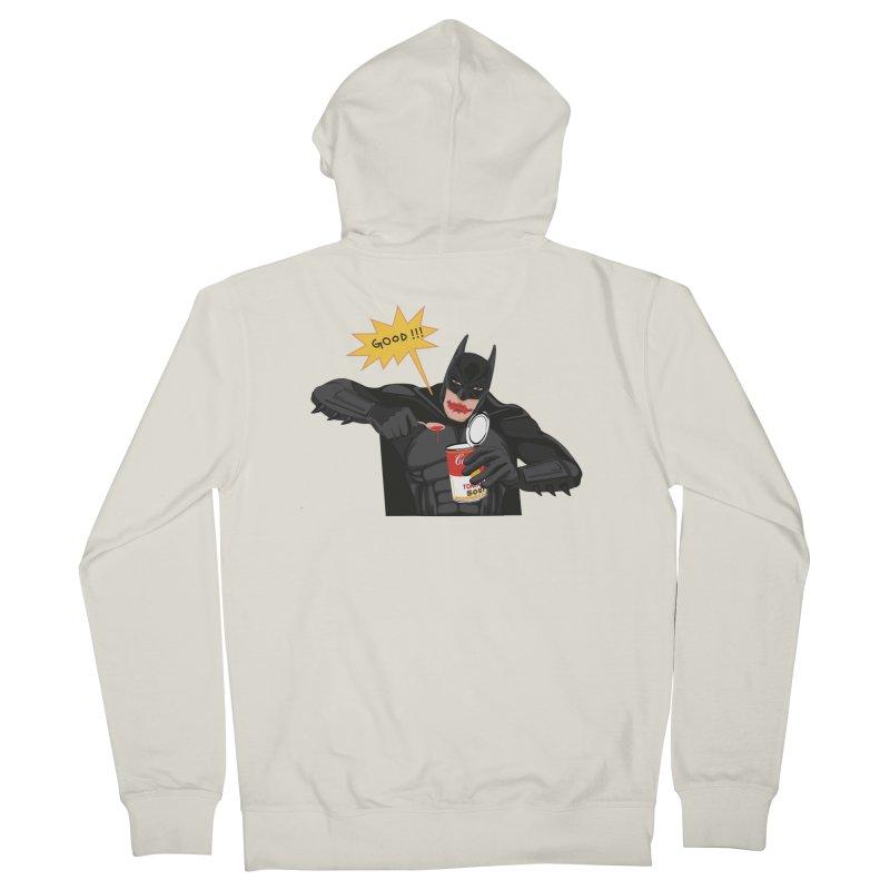 Batman Men's French Terry Zip-Up Hoody by darkodjordjevic's Artist Shop
