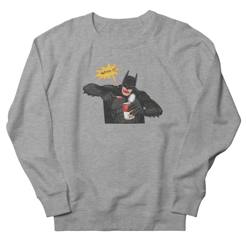Batman Men's French Terry Sweatshirt by darkodjordjevic's Artist Shop