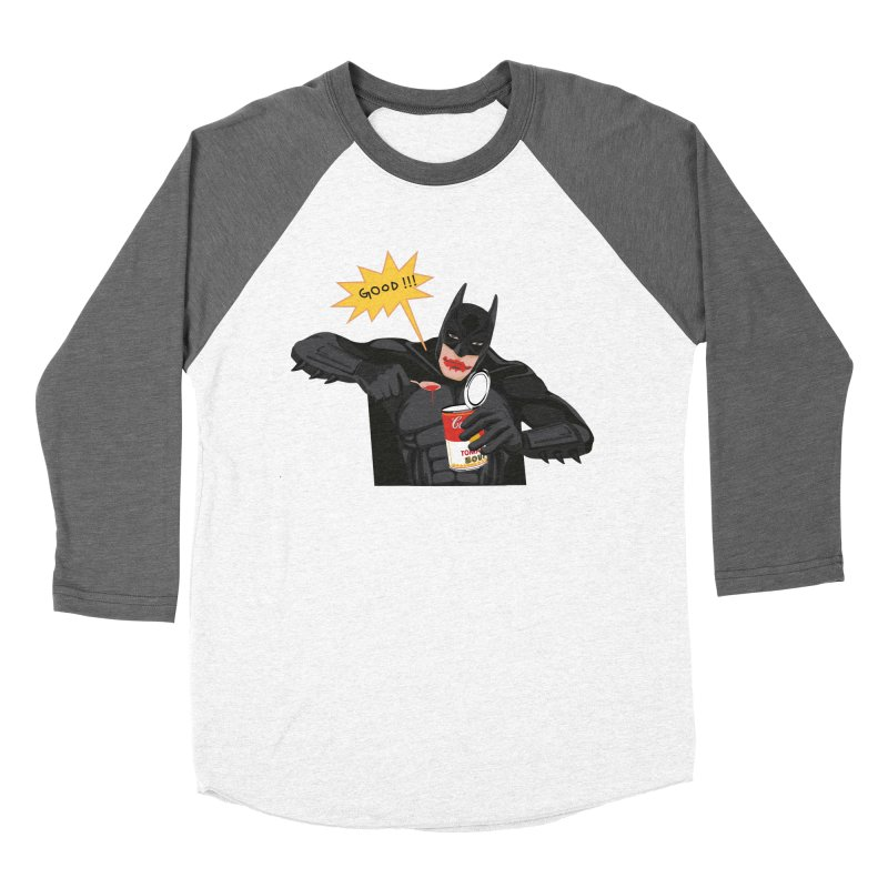 Batman Women's Baseball Triblend Longsleeve T-Shirt by darkodjordjevic's Artist Shop
