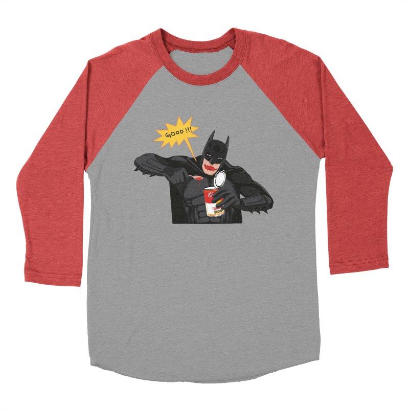 Batman Men's Baseball Triblend T-Shirt by darkodjordjevic's Artist Shop