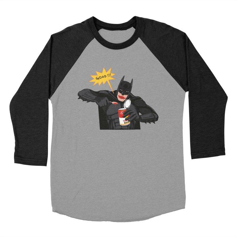 Batman Men's Baseball Triblend Longsleeve T-Shirt by darkodjordjevic's Artist Shop