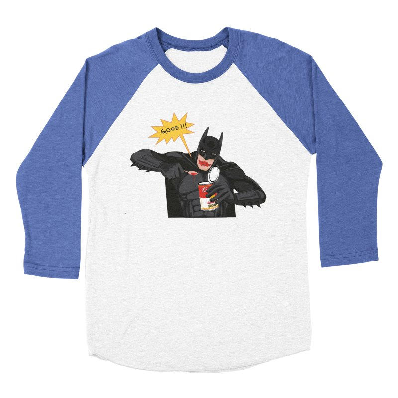 Batman Men's Baseball Triblend T-Shirt by darkodjordjevic's Artist Shop