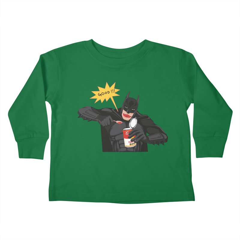 Batman Kids Toddler Longsleeve T-Shirt by darkodjordjevic's Artist Shop