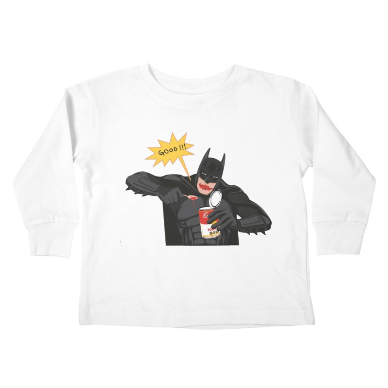 Batman Kids Toddler Longsleeve T-Shirt by darkodjordjevic's Artist Shop