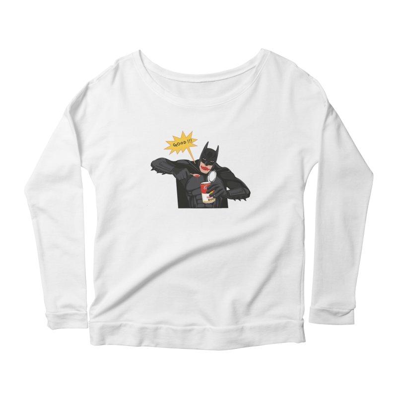 Batman Women's Scoop Neck Longsleeve T-Shirt by darkodjordjevic's Artist Shop
