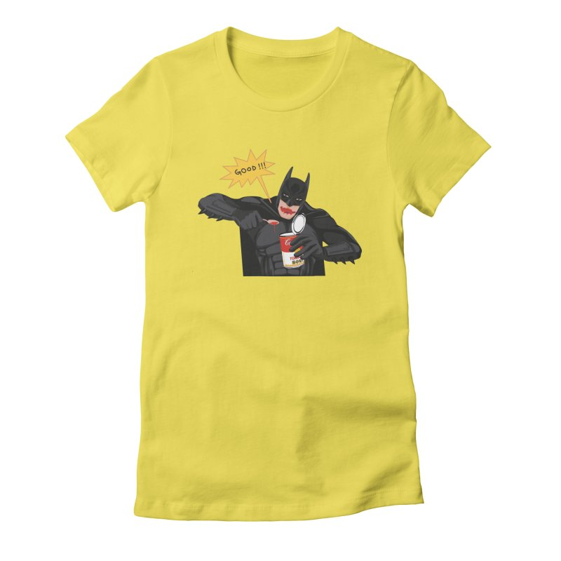 Batman Women's Fitted T-Shirt by darkodjordjevic's Artist Shop