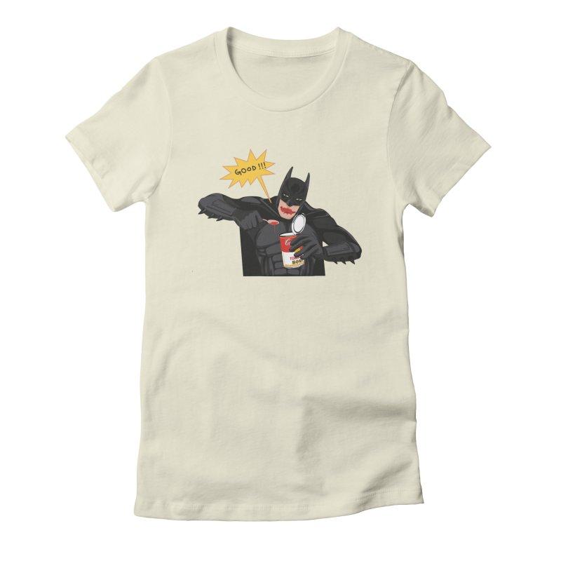 Batman Women's Fitted T-Shirt by darkodjordjevic's Artist Shop