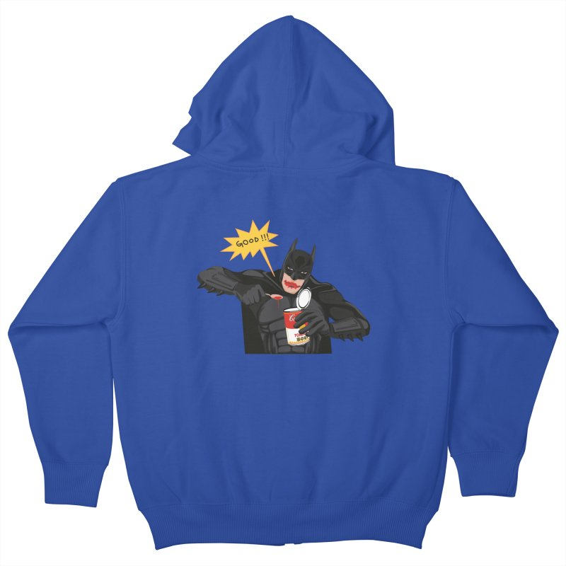Batman Kids Zip-Up Hoody by darkodjordjevic's Artist Shop