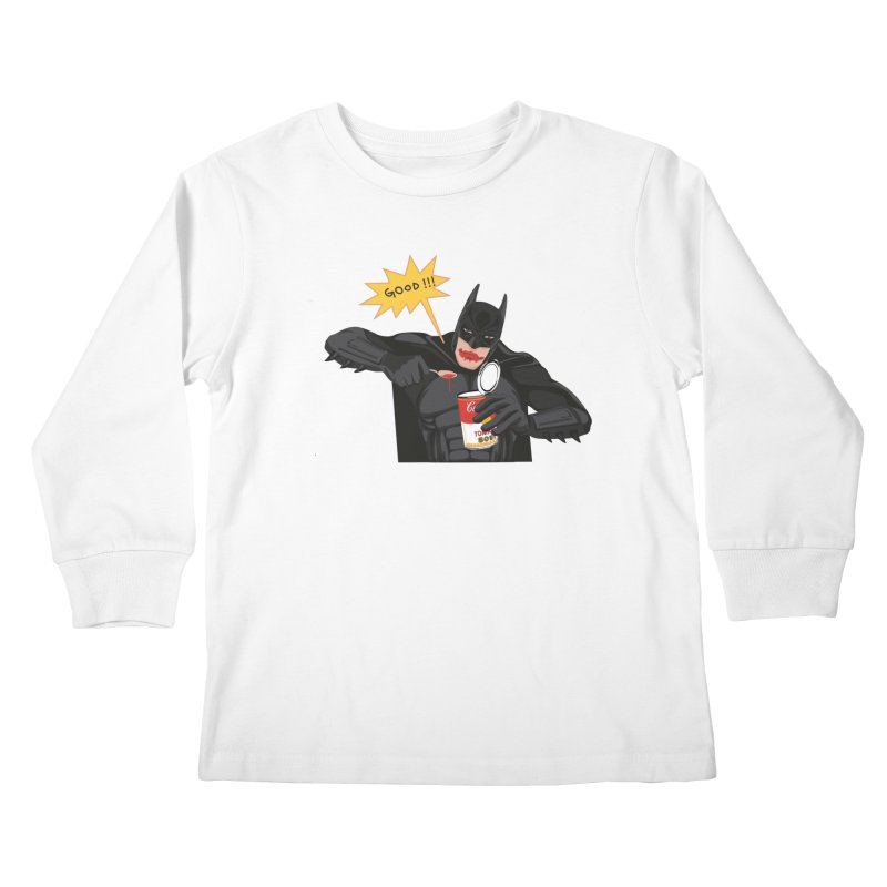 Batman Kids Longsleeve T-Shirt by darkodjordjevic's Artist Shop
