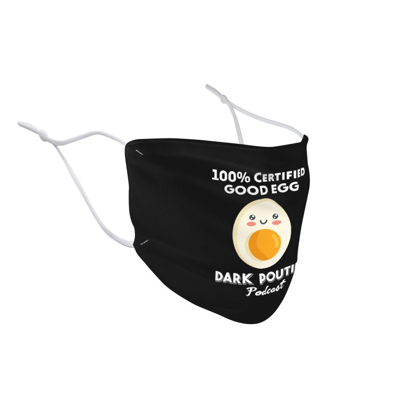 GOOD EGG Accessories Face Mask by Dark Poutine Podcast Swag