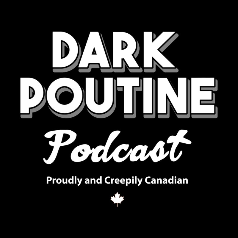 Old School Dark Poutine Logo Women's Pullover Hoody by Dark Poutine Podcast Swag
