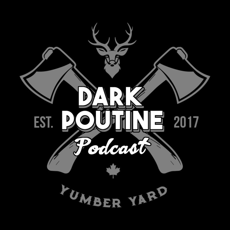 Yumber Yard Logo Men's Zip-Up Hoody by Dark Poutine Podcast Swag