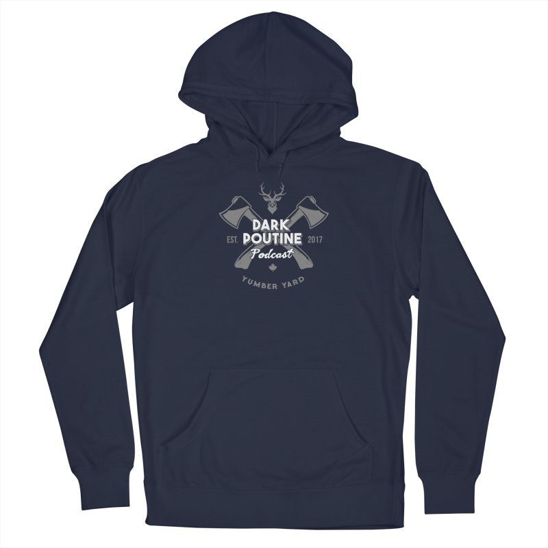 Yumber Yard Logo Men's Pullover Hoody by Dark Poutine Podcast Swag