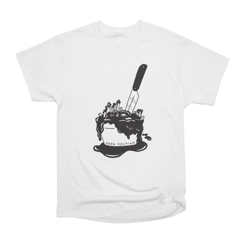 Madison's Dark Poutine - BLACK Men's T-Shirt by Dark Poutine Podcast Swag