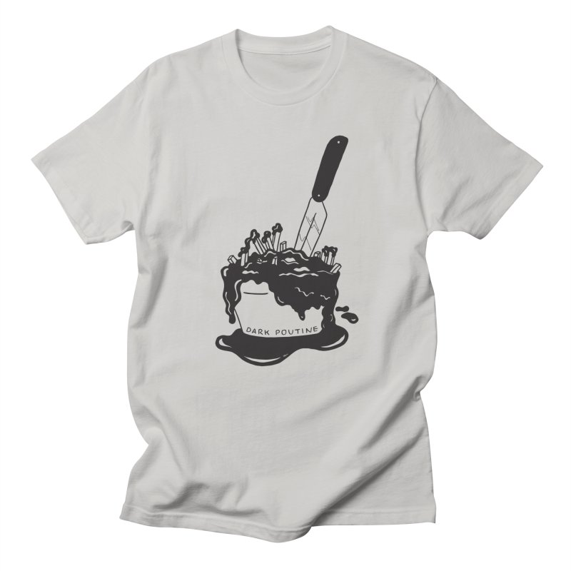 Madison's Dark Poutine - BLACK Men's T-Shirt by Dark Poutine Podcast Swag