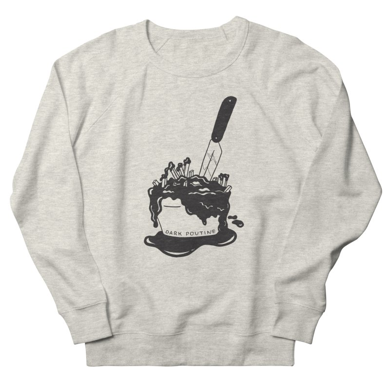 Madison's Dark Poutine - BLACK Men's Sweatshirt by Dark Poutine Podcast Swag