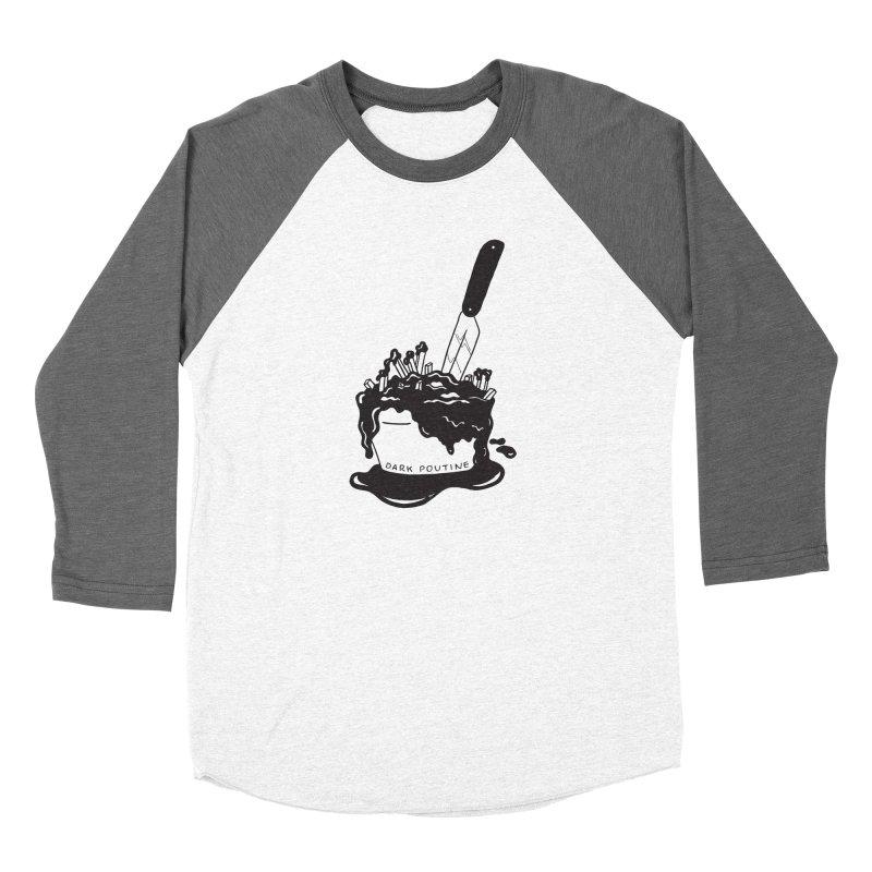 Madison's Dark Poutine - BLACK Women's Longsleeve T-Shirt by Dark Poutine Podcast Swag