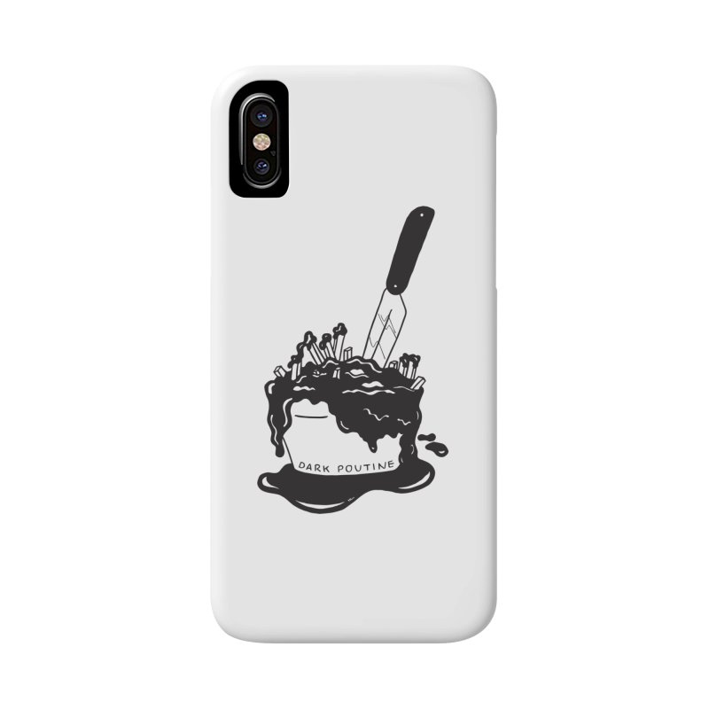 Madison's Dark Poutine - BLACK Accessories Phone Case by Dark Poutine Podcast Swag