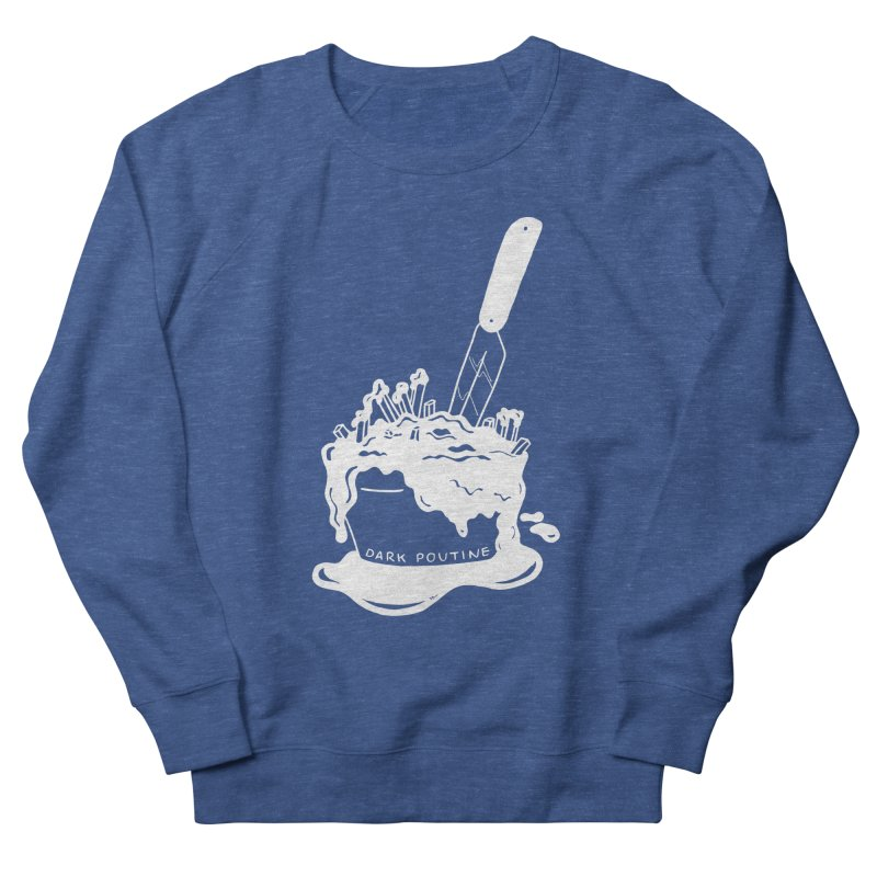 Madison's Dark Poutine - WHITE Men's Sweatshirt by Dark Poutine Podcast Swag
