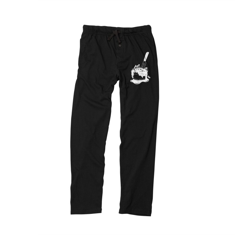 Madison's Dark Poutine - WHITE Women's Lounge Pants by Dark Poutine Podcast Swag