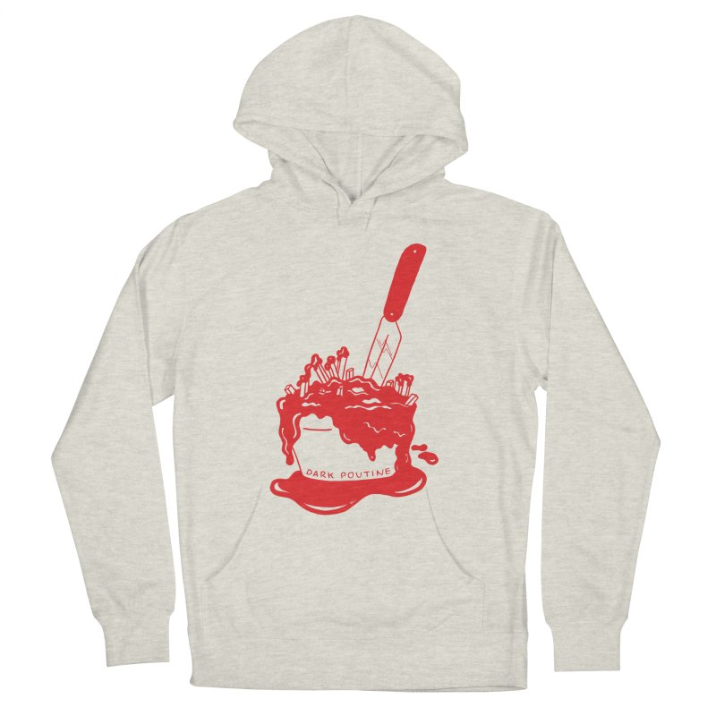 Madison's Dark Poutine - RED Women's Pullover Hoody by Dark Poutine Podcast Swag