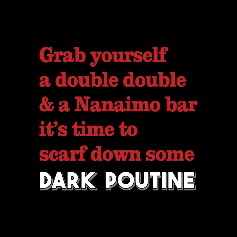Dark Poutine Intro Men's Sweatshirt by Dark Poutine Podcast Swag