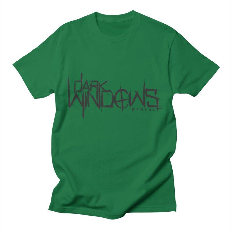 DWP LOGO BLACK Men's T-Shirt by darkwindowspod's Artist Shop