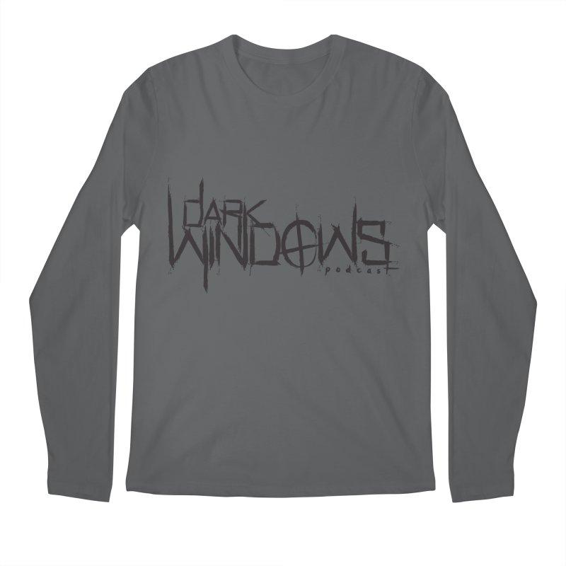DWP LOGO BLACK Men's Longsleeve T-Shirt by darkwindowspod's Artist Shop