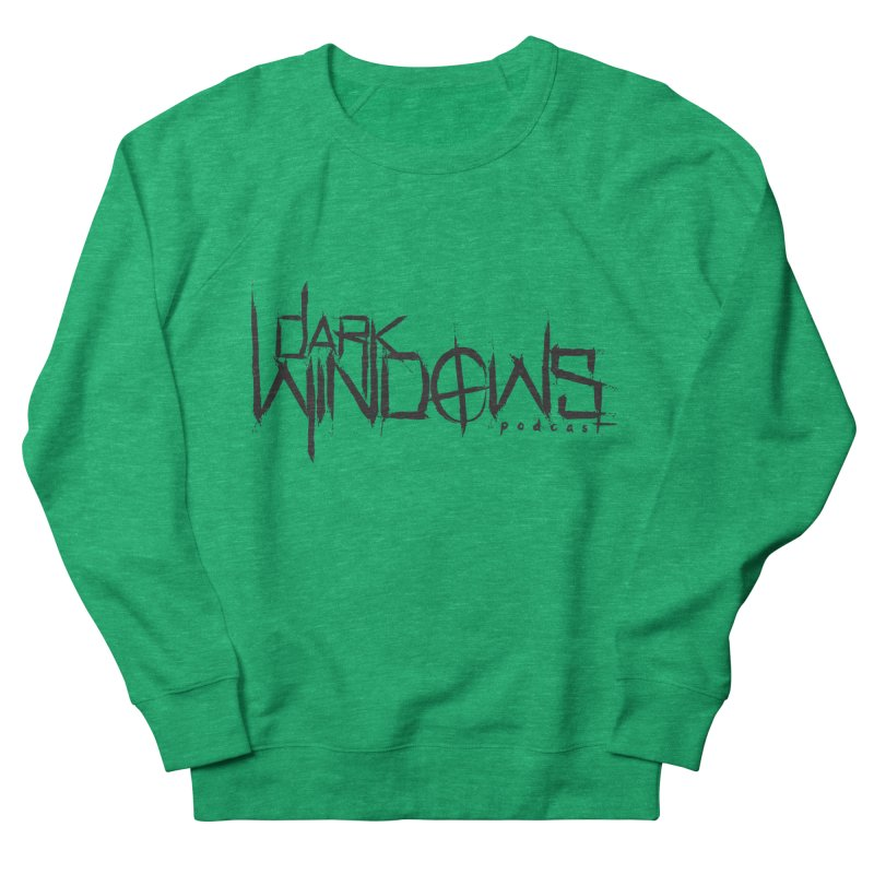 DWP LOGO BLACK Men's Sweatshirt by darkwindowspod's Artist Shop