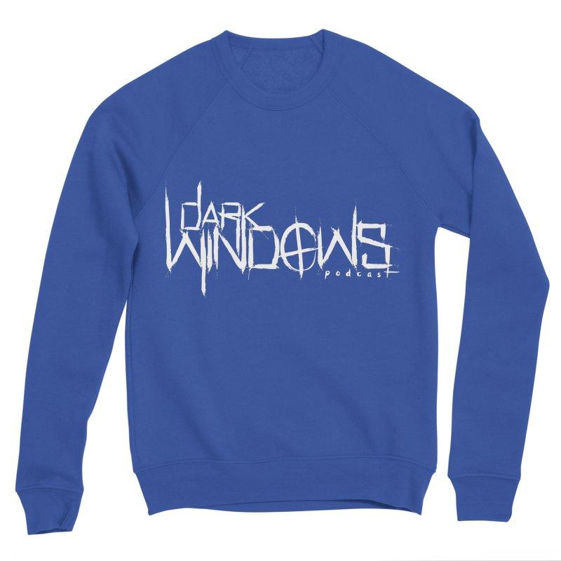 DWP LOGO WHITE Men's Sweatshirt by darkwindowspod's Artist Shop
