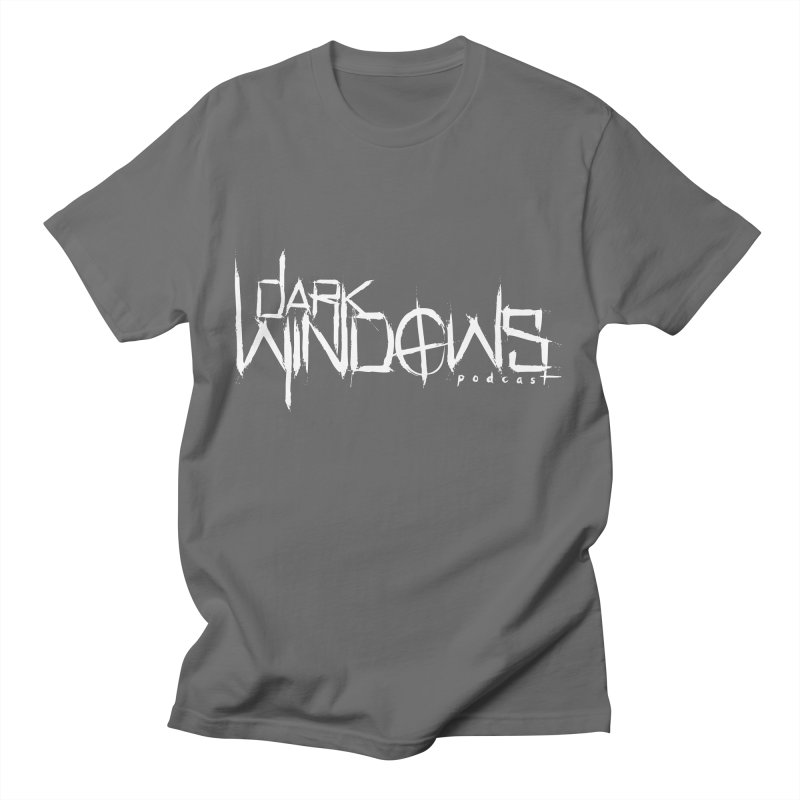 DWP LOGO WHITE Men's T-Shirt by darkwindowspod's Artist Shop